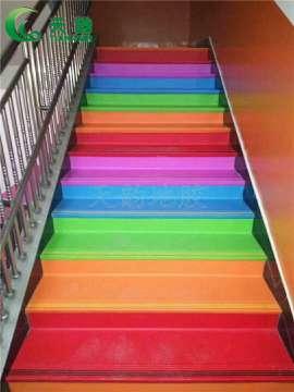 【天韵楼梯踏步橡胶地板厂家】