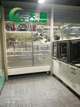 【天韵片材塑胶地板工厂】