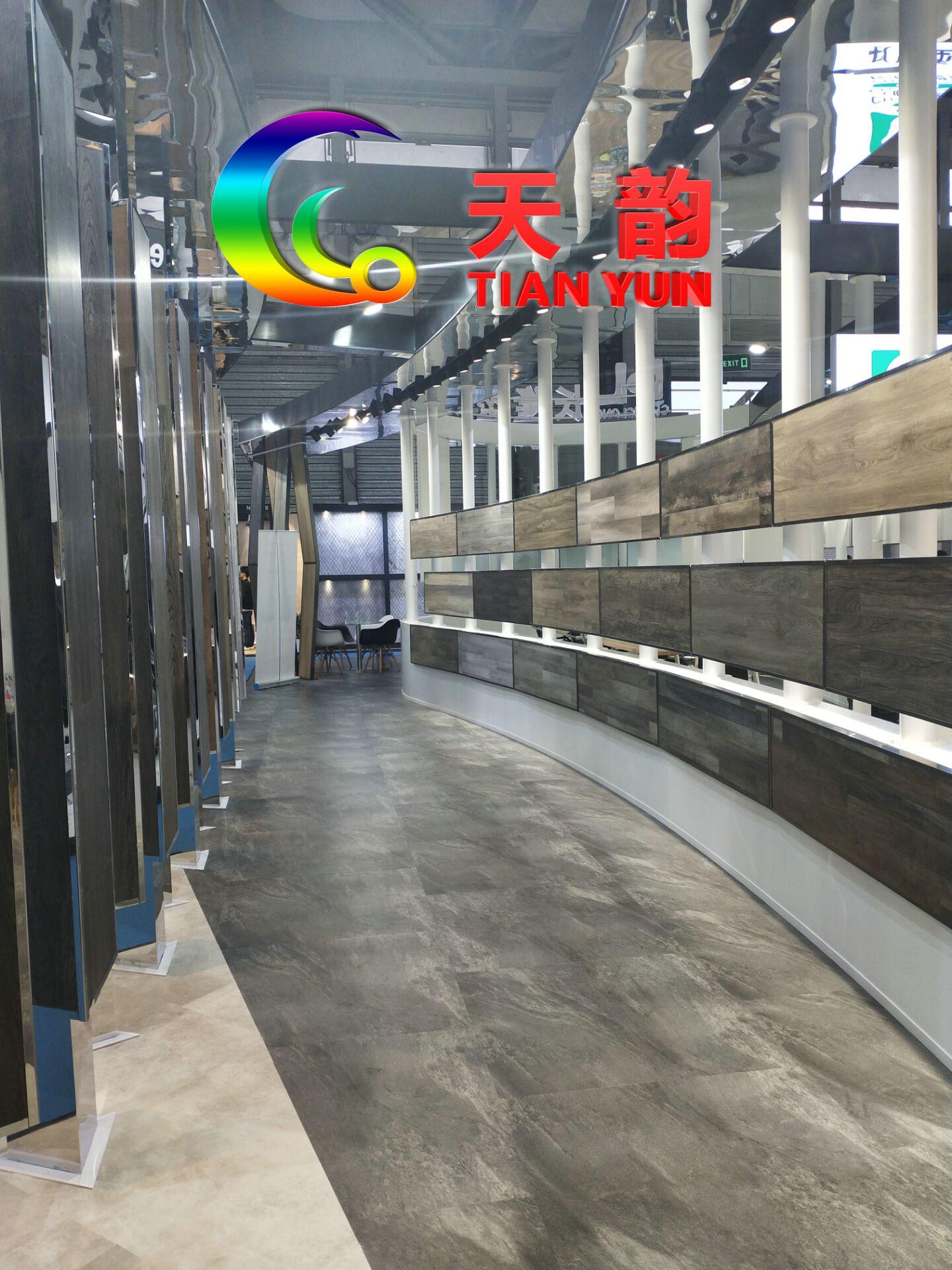 天韵塑胶地板厂家天韵MPC工业卷材地板